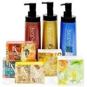 Керасис Минерал Бэланс KeraSys Body Cleanser & Soap Mineral Balance / Для жирной и нормальной кожи Упаковка: Гель для душа – 580 г Мыло – 100 г фото
