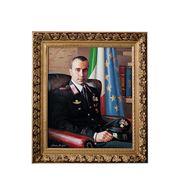 Портрет маслом по фото 90- 70 см фото
