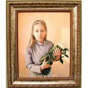 Портрет под заказ (холст, масло) фото