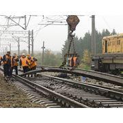 строительство железнодорожных подъездных путей фото