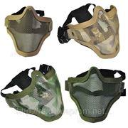 Защитная полумаска сетчатая, 2 стропы (разные расцветки) фото