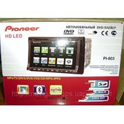 "Автомагнитола Pioneer Pi-803 NEW 2din c Gps 7"" (800x480)Cd/Mp-3/Mp-4/Dvd/Tv/ Fm-тюнером фото"