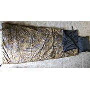 Спальный мешок (двойной синтепон с подушкой) фото
