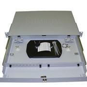 Кросс стоечный СКРУ-М19-1U-C8|16-FC|ST с выдвижным столом фото