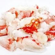 Мясо камчатского краба в/м, салатное фото