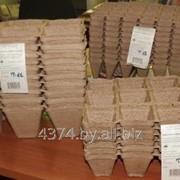 Горшочки торфяные полые для выращивания рассады фото