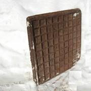 Плитка чугунная для производственных помещений фото