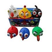 Детская игрушка - пищалка 525-7 Angry birds фото