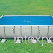 Обогревающее покрывало SOLAR COVER для бассейнов INTEX 59957 фото