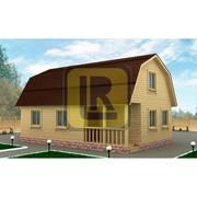 Дом из бруса Проект №16 (6х9) фото