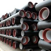 Трубы чугунные канализационные, Трубы ВЧШГ из высокопрочного чугуна с шаровидным графитом для канализации, производство Китай фото