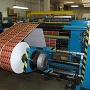Послепечатное оборудование термографическое, фальцевальное, биговальное, перфорационное, нумерационное, резательное, листоподборочное; Печатного оборудования: флекопечатное, шелкотрафаретное фото