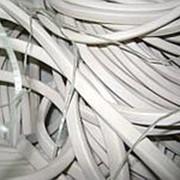 Шнур силиконовый (прозрачный) 7 мм х 10 мм фото