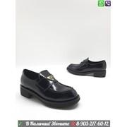 Ботинки PRADA Прада женские лоферы фото