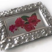 Тарелка стеклянная вариант 3 фото