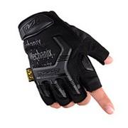 Перчатки Mechanix m-pact беспалые Черные фото