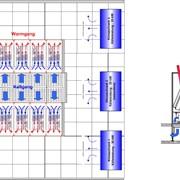 Рядные охлаждающие системы (Горячий/холодный проход) фото