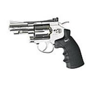Револьвер пневматический ASG Dan Wesson 2,5 Silver пулевой кал.4,5 мм (18101) фото