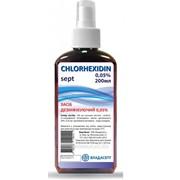 Дезінфікуючий засіб Хлоргексидину біглюконат 0,05 % «СHLORHEXIDIN Sept» спрей 0,05% 200 мл фото