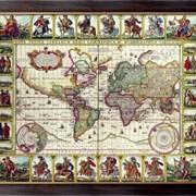 Картина Карта мира, Неизвестен фото