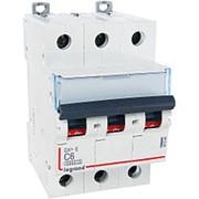LEGRAND 407288 Автомат, серия DX3-E, С6A, 6kA, 3-полюсный фото