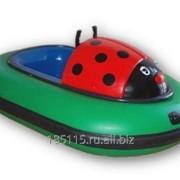 Аттракцион Бамперные лодки Mini Bumper Ladybug фото