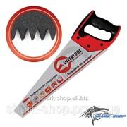 Ножовка по дереву 450мм с тефлоновым покрытием, каленый зуб, 3-ая заточка HT-3108 фото