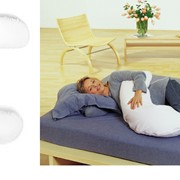Подушка полумесяц с наволочкой фото