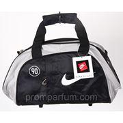 Сумка спортивная Nike черная 15х24х35х10 305 /0-58 фото