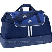 Сумка дорожная спортивная 45 л. Adidas Артикул: V42833, V42834 синий; черный с красным фото