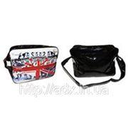 Сумка спортивная URBAN BAG ENGLAND GA-361-8 (PVC блестящее, р-р 38*26*13см) фото