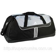 Сумка спортивная большая Adidas 80 л. Артикул: V42840; V42842; V42839 черный с серым; черный с красным; черный фото