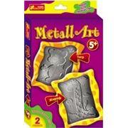 """Metall Art """"Жираф+Тигр"""" фото"""