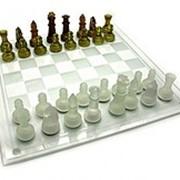 Шахматы стеклянные — купить шахматы Код GBA01L-2 фото