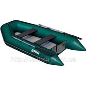 Моторная лодка с надувным настилом Бриг D330W фото
