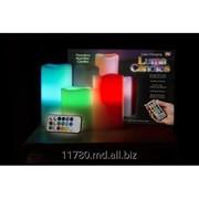 Многоцветная LED свеча фото