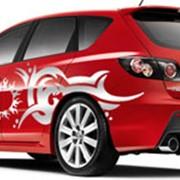 Графическое оформление автомобилей пленками, виниловый стайлинг фото