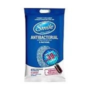 Влажные салфетки Smile Антибактериальные с Д-пантенолом (15 шт.) фото