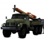 Бурильно — крановая машина БКМ-307ДМ с дизель-молотом фото