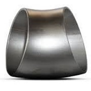 Отвод стальной чёрный 45 гр. Ду108х6 фото