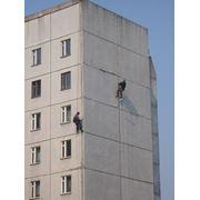 Герметизация стыков панельных жилых и промышленных зданий козырьков отливов балконов устранение протечек фото