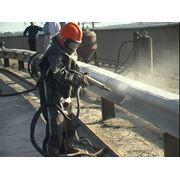 Весь комплекс работ по защите металлических конструкций оборудования железобетонных и каменных сооружений от воздействия коррозии и разрушений. фото