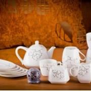 Чайный европейский сервиз на 6 персон Тодес фото