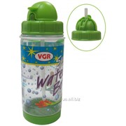 Бутылочка для напитков 400мл с трубочкой WB27031 VGR 27031 фото