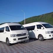 Услуги микроавтобусов. фото