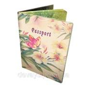 Оригинальная обложка для паспорта Весенний букет фото