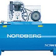 NC500/1200 NORDBERG Компрессор поршневой с ременным приводом (380В) фото