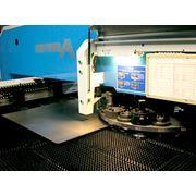 Металлообработка листового металла: - лазерная порезка - револьверный дыропробивной пресс - формовка металла - загибка металла - гибка металла - плющенье заготовок- - сварка в среде СО2 полуавтомато - штамповка фото