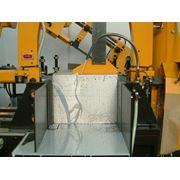 Услуги по резке металлопроката на заготовки на ленточнопильных станках Everising. Автоматическая и полуавтоматическая резка резка под углом резка пакета заготовок фото