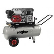 Компрессор EngineAIR A39B/50 5HP (ENGINEAIR 5/50 PETROL) (330л/мин_50л_10бар_4кВт_мобильный_бензин) фото